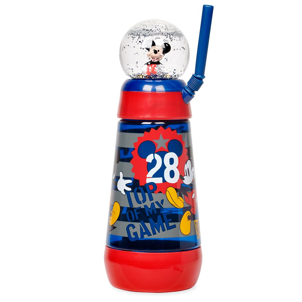 Mickey Mouse Snowglobe Tumbler with Straw Official shopDisney