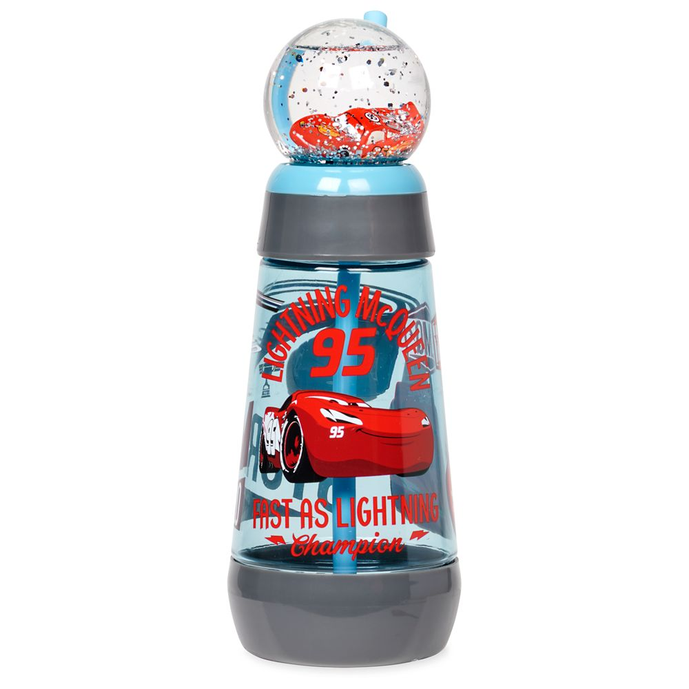 Cars Snowglobe Tumbler with Straw