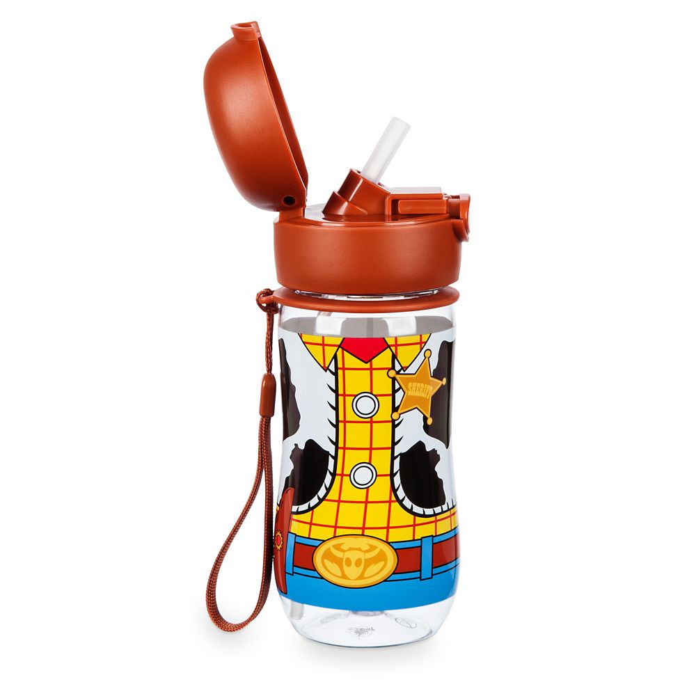 Woody Flip-Top Water Bottle – Toy Story 4