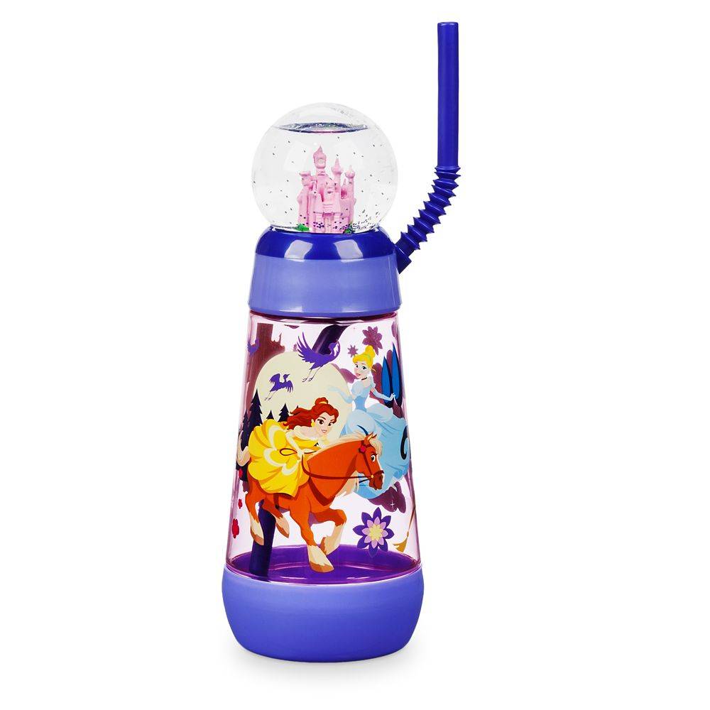 Disney Princess Snowglobe Tumbler with Straw