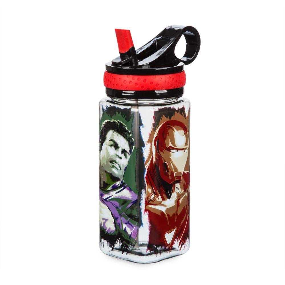 Marvel's Avengers: Endgame Water Bottle with Built-In Straw