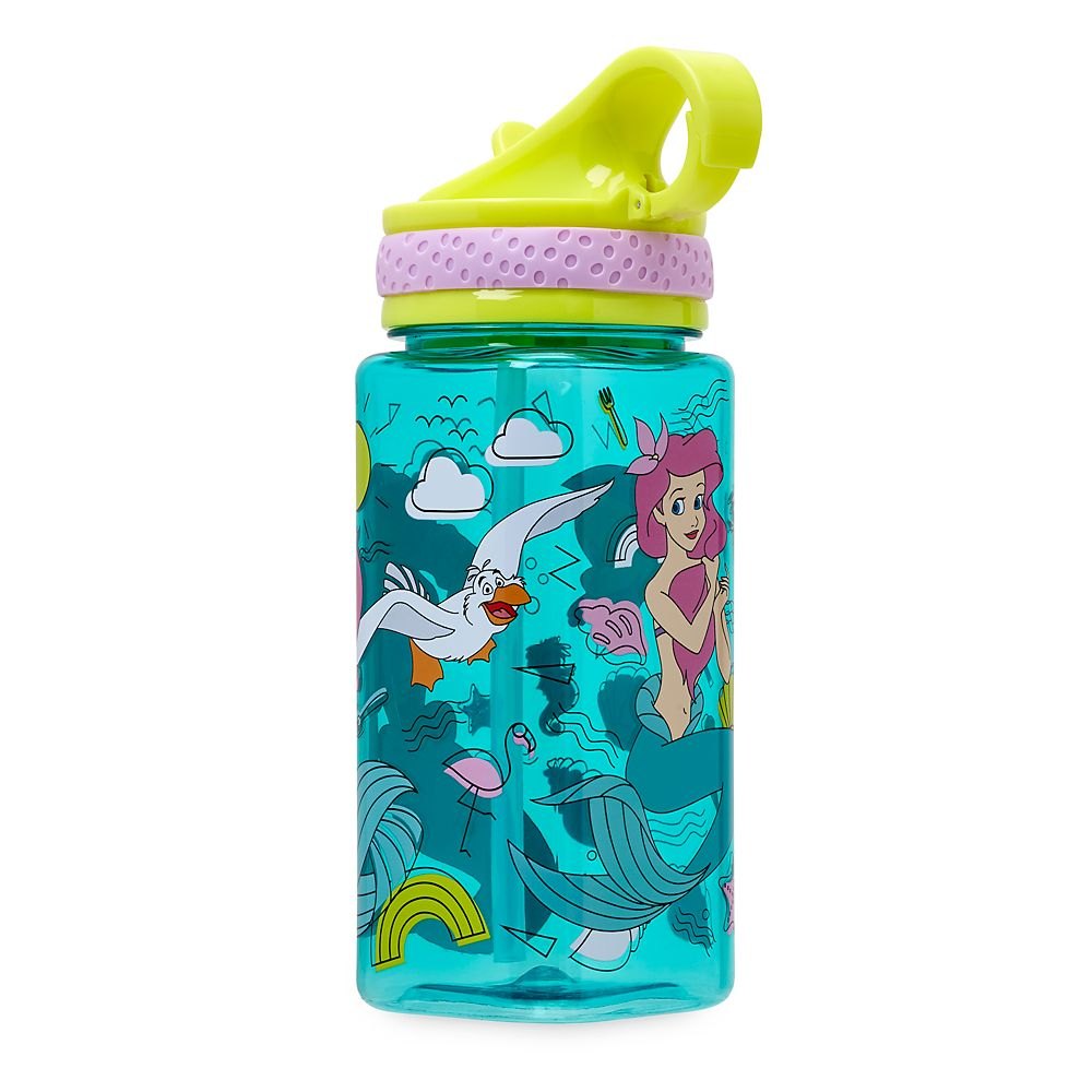 Ariel Water Bottle with Built-In Straw