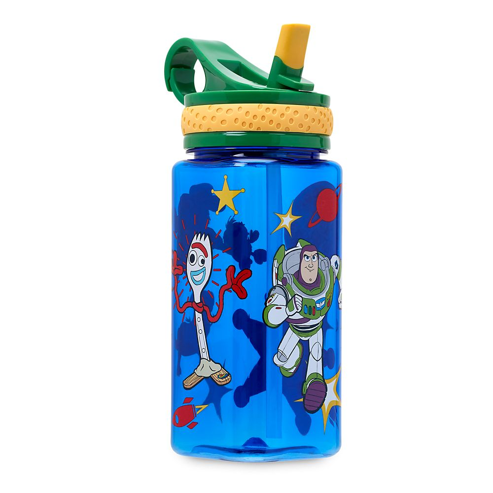 Toy Story 4 Water Bottle with Built-In Straw