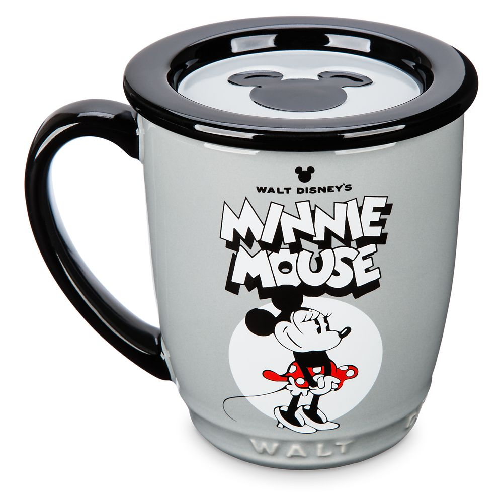 Mickey and Minnie Mouse Mug and Coaster Set – Walt Disney Studios