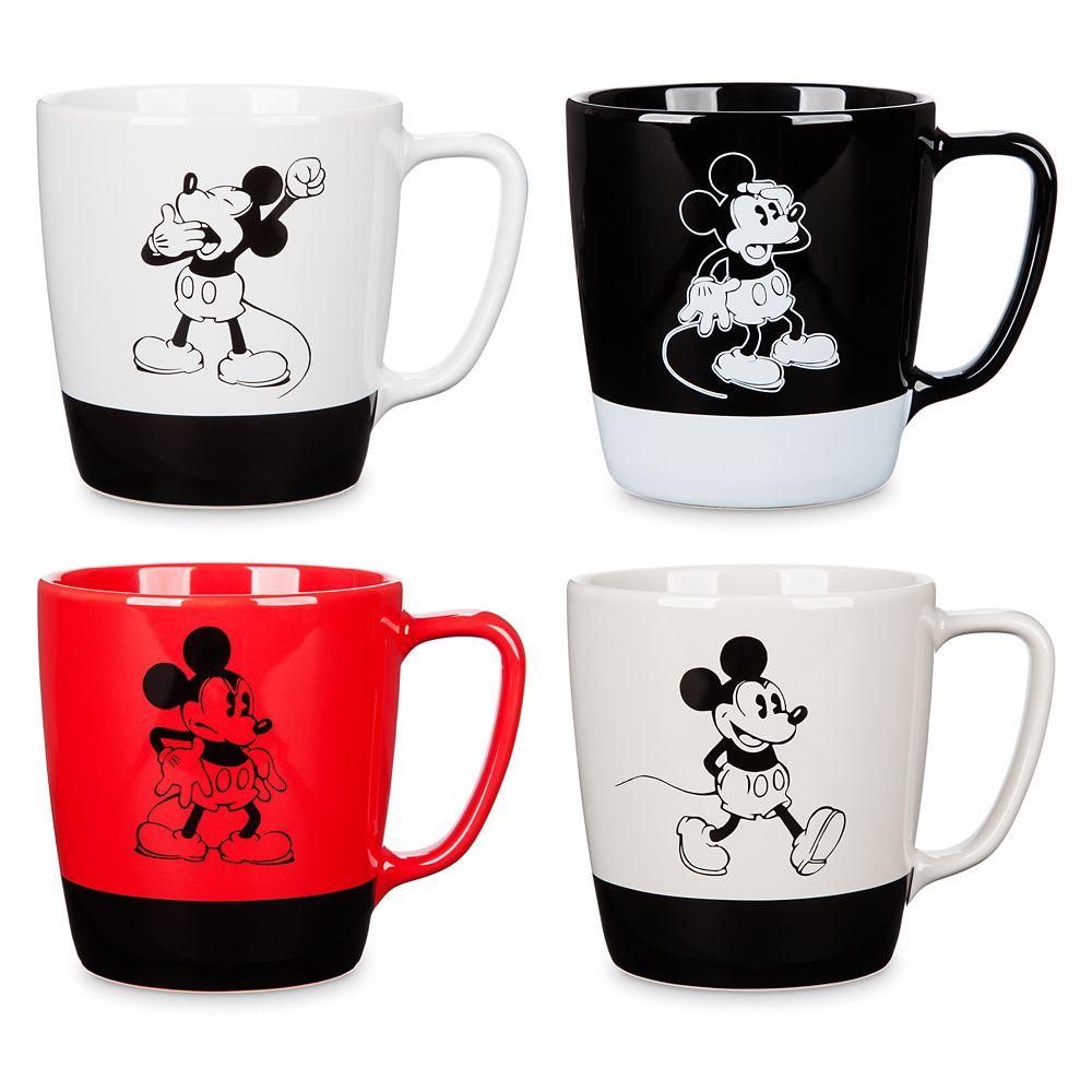 Mickey Mouse Mug Set – 4 pc. – Walt Disney Studios