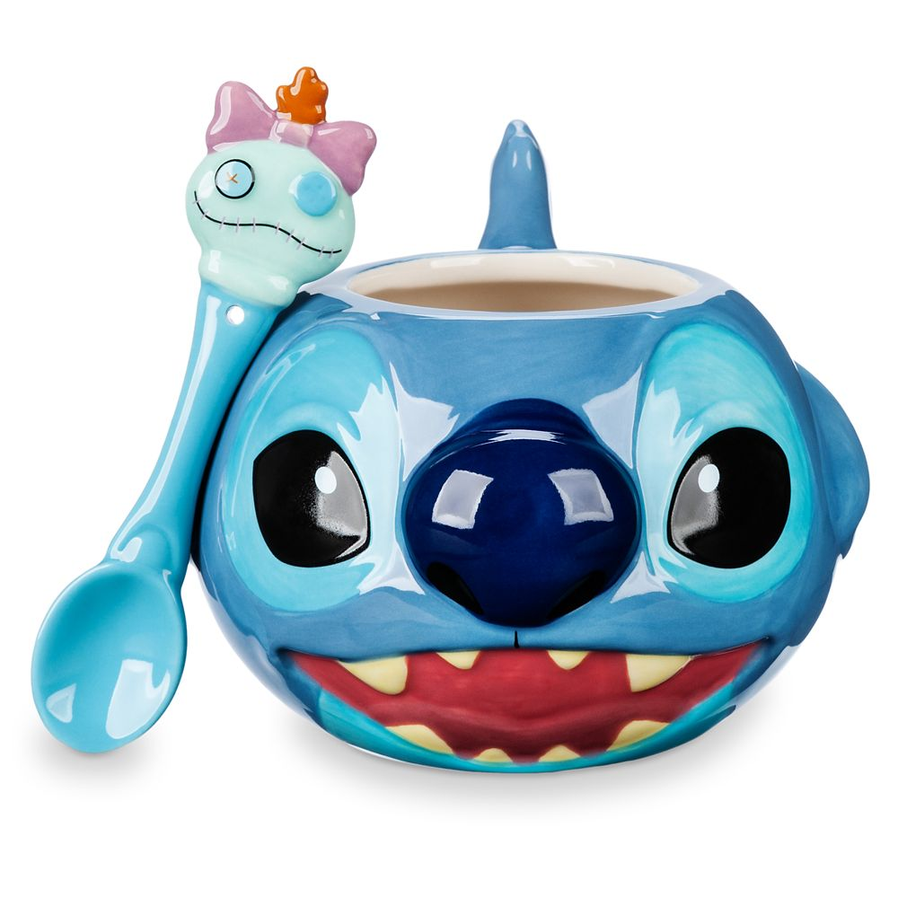 Stitch Mug and Spoon Set