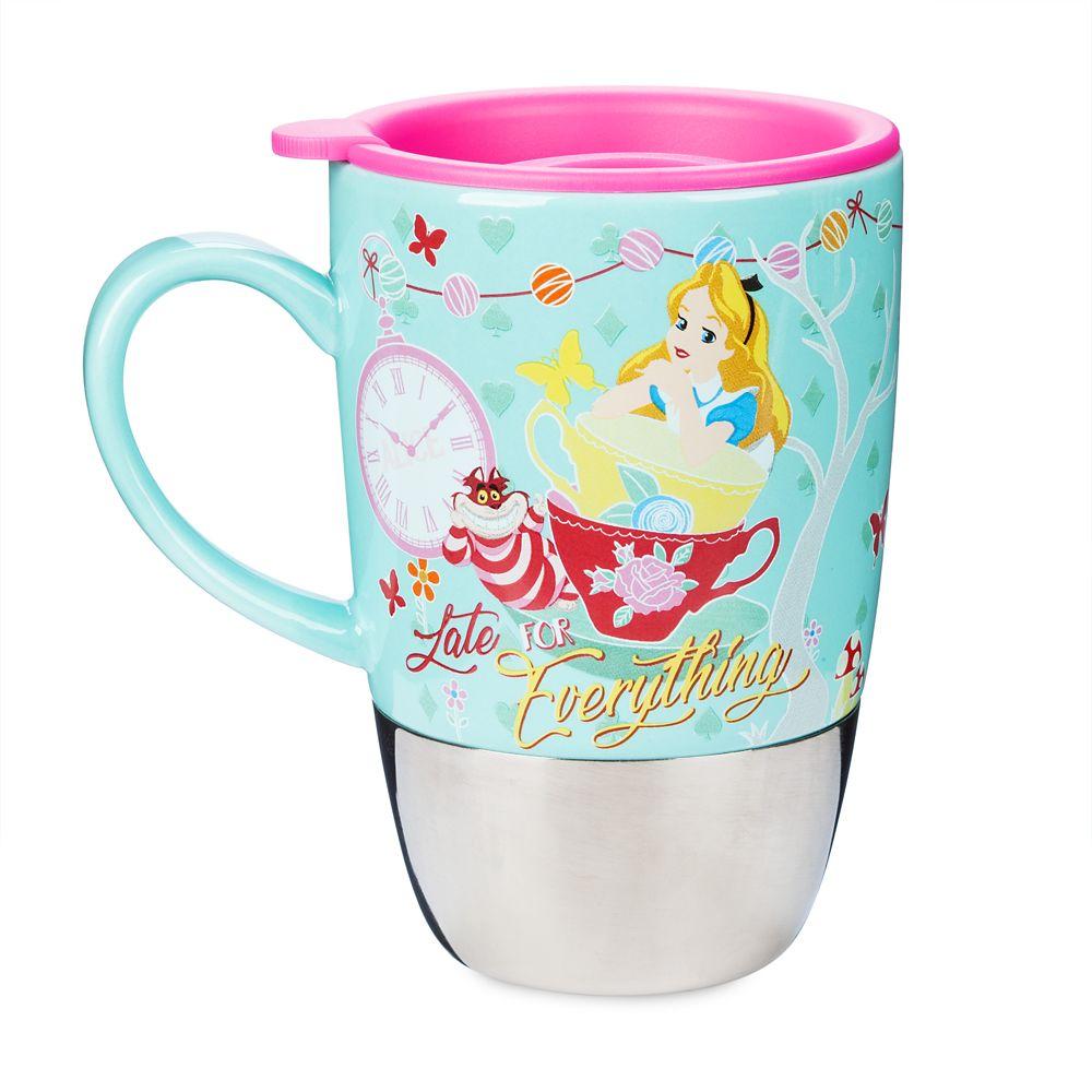 Alice in Wonderland Travel Mug