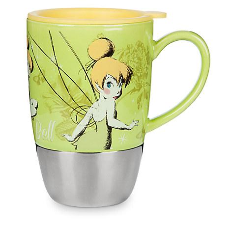 Tinker Bell Ceramic Travel Mug