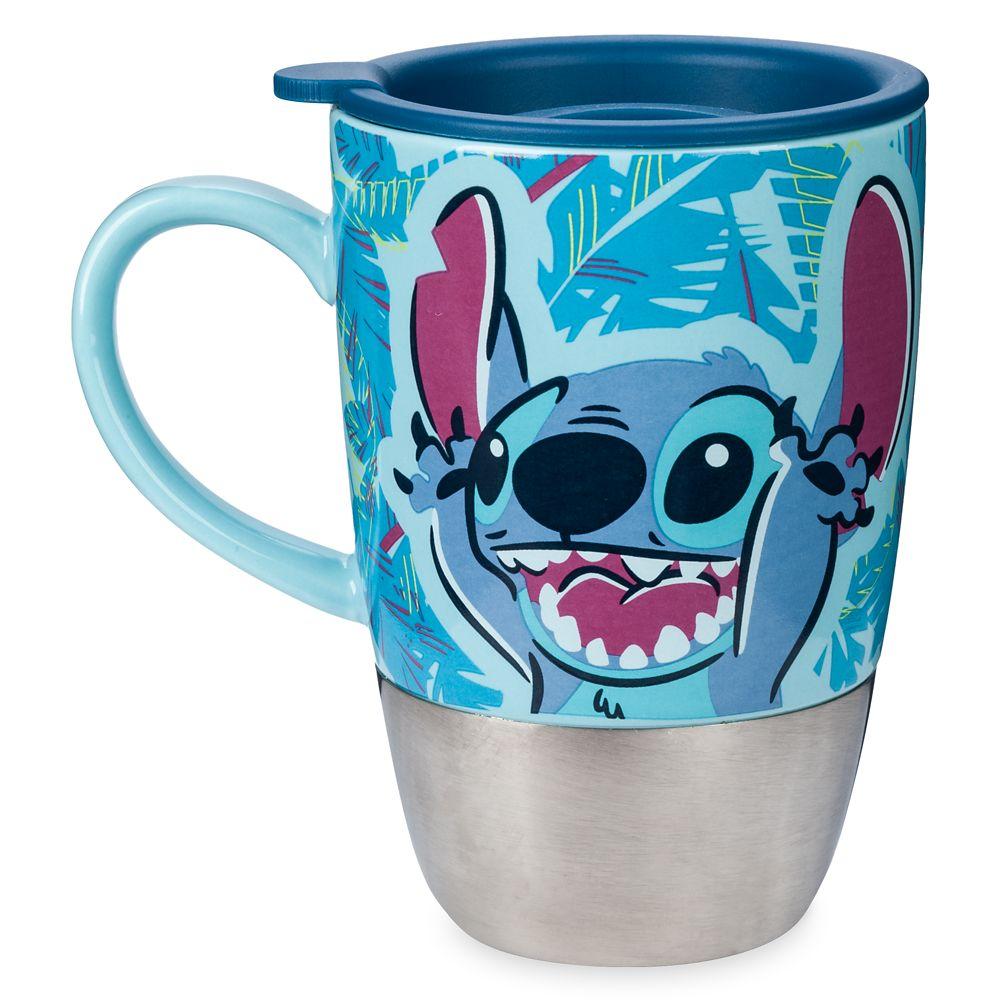 Stitch Ceramic Travel Mug – Lilo & Stitch