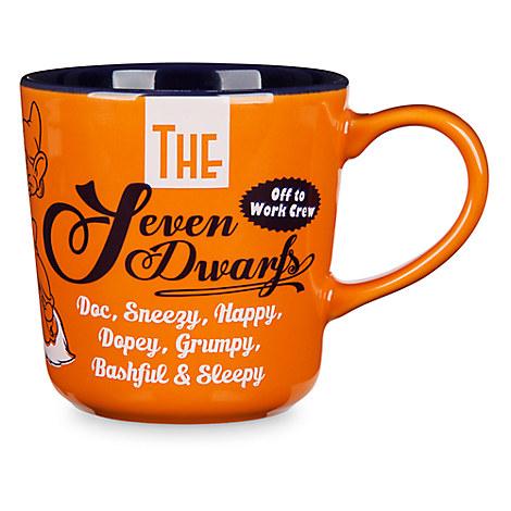 Seven Dwarfs Color Contrast Mug