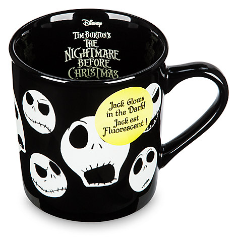 Jack Skellington Glow-in-the-Dark Mug