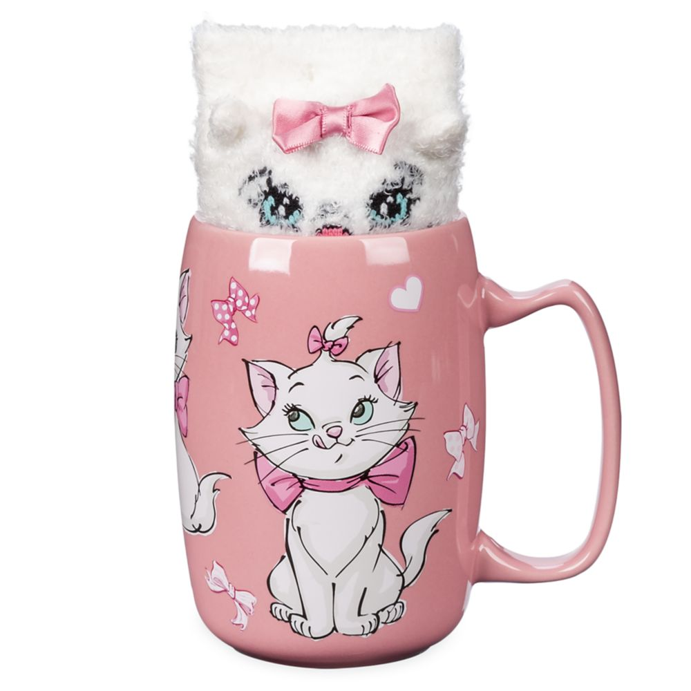 Marie Mug and Sock Set The Aristocats Official shopDisney