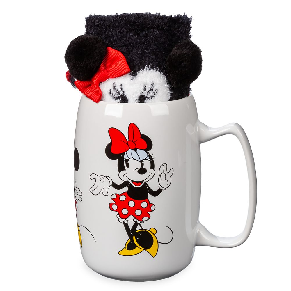 Minnie Mouse Mug and Sock Set Official shopDisney