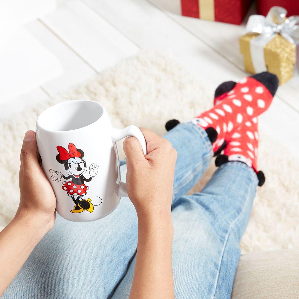 Minnie Mouse Mug and Sock Set