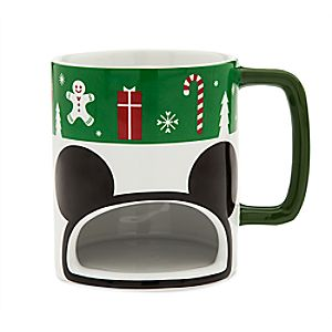 Mickey Mouse Holiday Cookie Mug