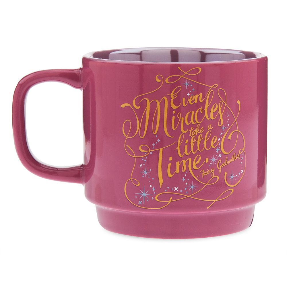 Disney Wisdom Mug – Fairy Godmother – Cinderella – December – Limited Release