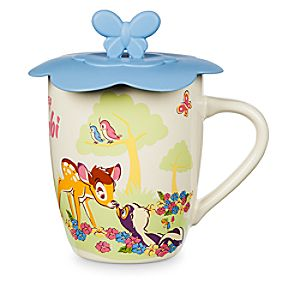Bambi Mug with Lid