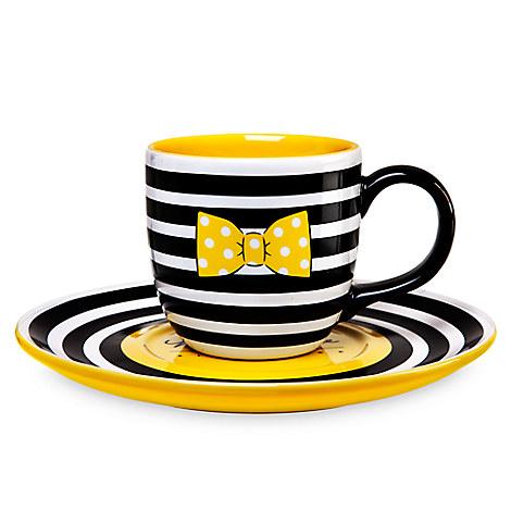 Minnie Mouse Signature Mug and Saucer Box Set