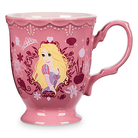 Rapunzel Flower Princess Mug