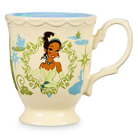 Tiana Flower Princess Mug