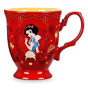Snow White Flower Princess Mug