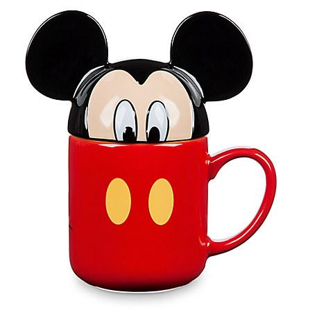 Mickey Mouse Peek-a-Boo Lid Mug