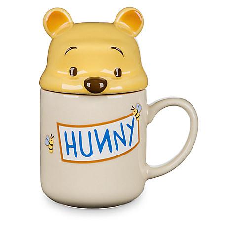 Winnie the Pooh Peek-a-Boo Lid Mug