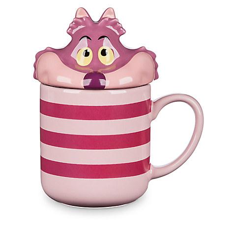 Cheshire Cat Peek-a-Boo Lid Mug