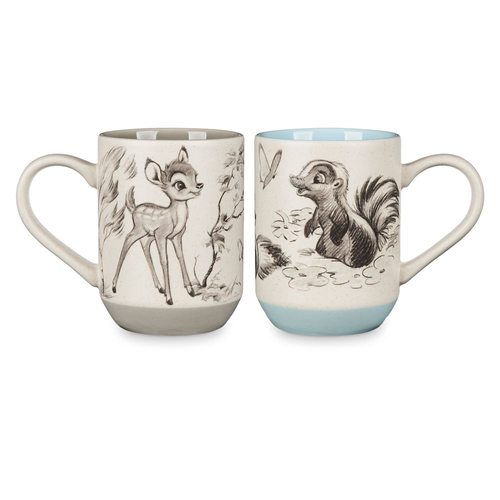 Bambi 75th Anniversary Mug Set