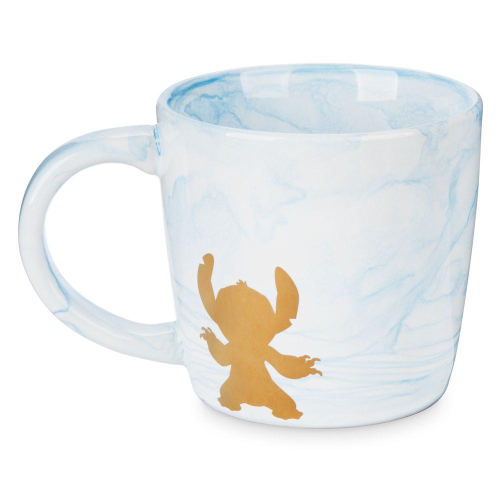 Stitch Marbled Mug