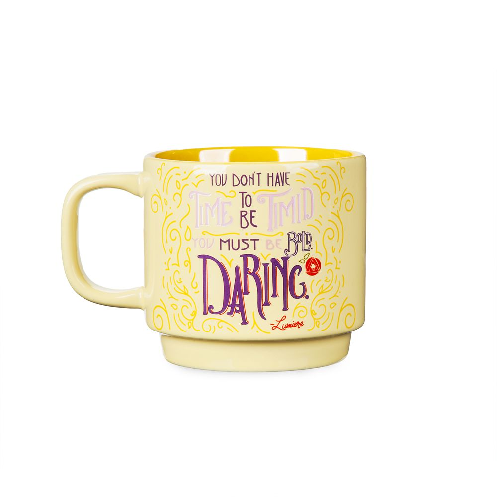 Disney Wisdom Mug  Lumiere  June  Limited Release