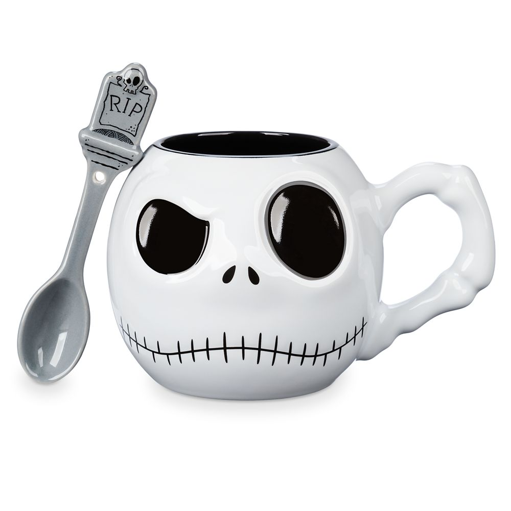 Jack Skellington Mug and Spoon Set Official shopDisney