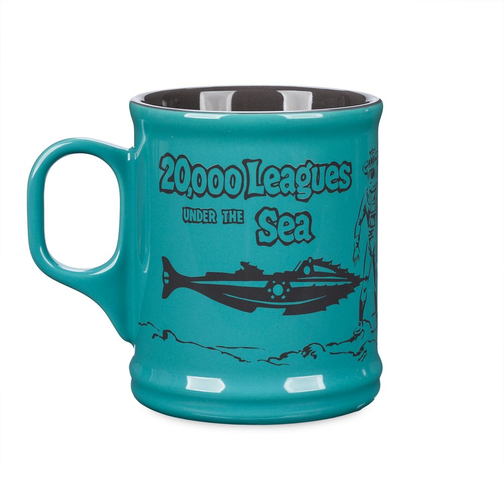 20,000 Leagues Under the Sea Mug  65th Anniversary Official shopDisney