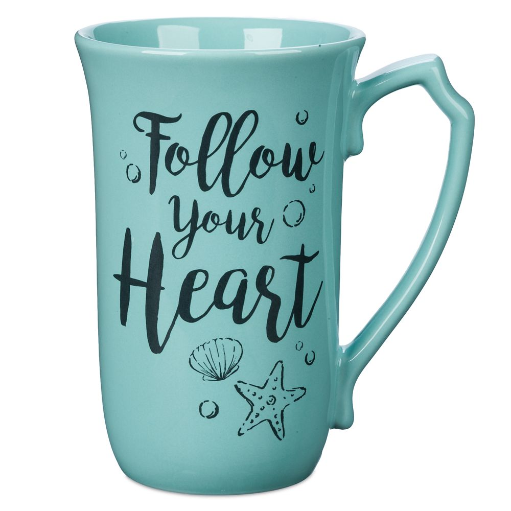 Ariel and Eric Latte Mug – The Little Mermaid