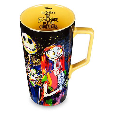 Nightmare Before Christmas Latte Mug