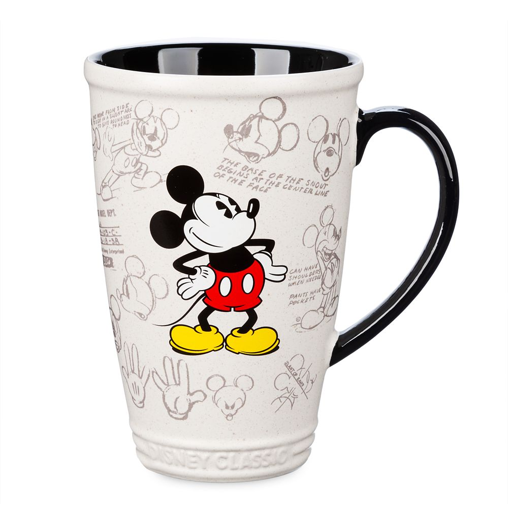 Mickey Mouse Latte Mug – Disney Classics