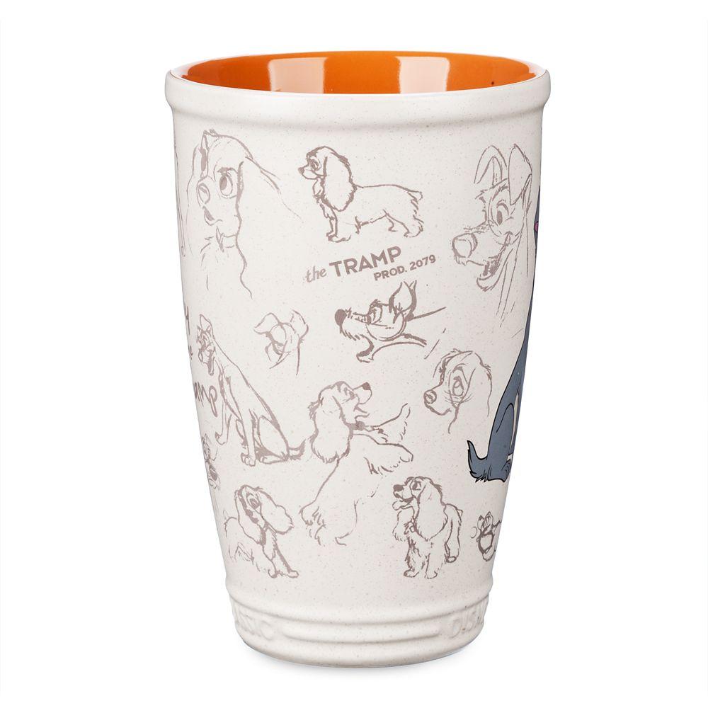 Lady and the Tramp Latte Mug – Disney Classics