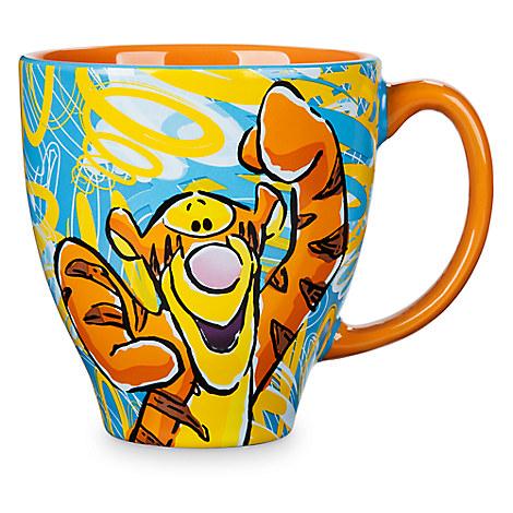 Tigger Pattern Mug