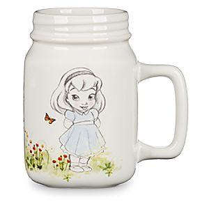 Disney Animators' Collection Mason Jar Ceramic Mug