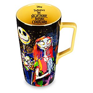 Tim Burton's The Nightmare Before Christmas Latte Mug 6503056693999P