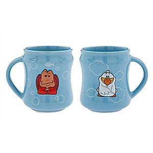 Sebastian and Scuttle Mug Set - The Little Mermaid