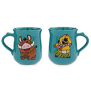 Timon and Pumbaa Mug Set - The Lion King
