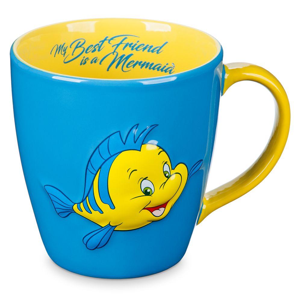 Flounder Mug – Little Mermaid