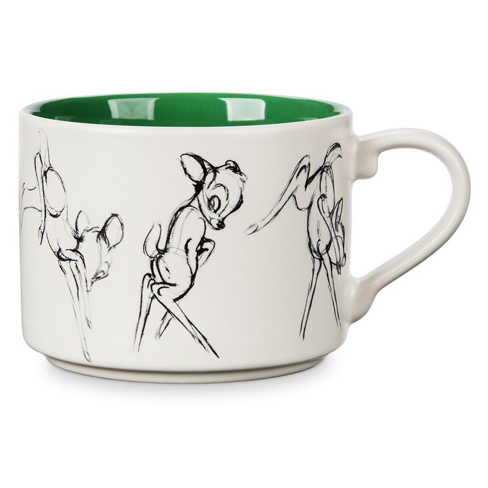 Bambi Animation Sketch Mug