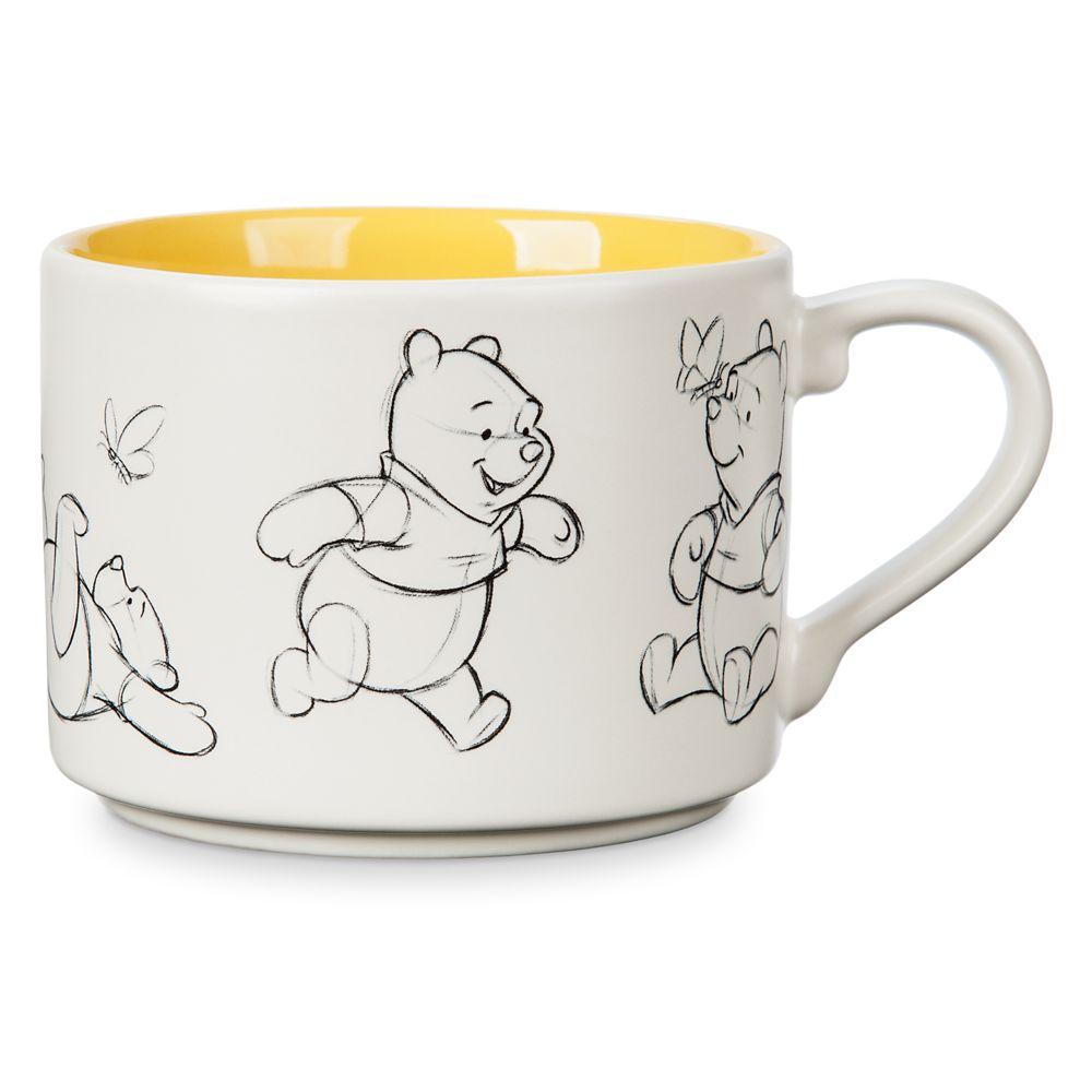 Winnie the Pooh Animation Sketch Mug