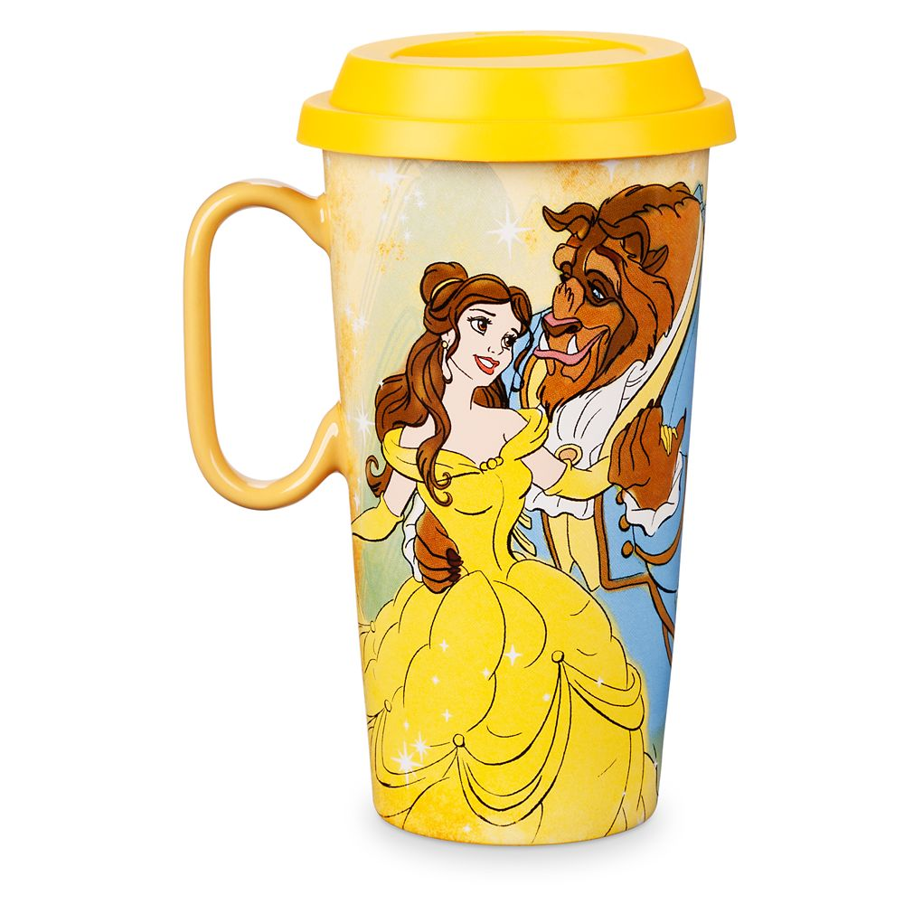Beauty and the Beast Ceramic Travel Mug