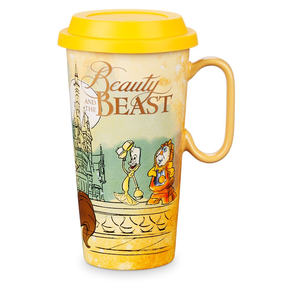 Beauty and the Beast Ceramic Travel Mug