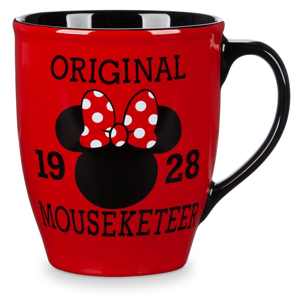 Minnie Mouse Mouseketeer Mug