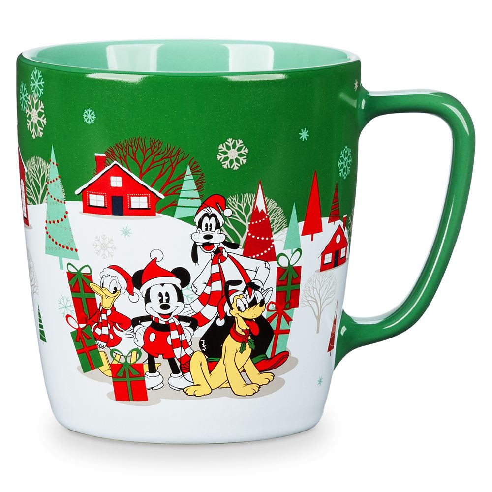 Mickey Mouse and Friends Holiday Mug