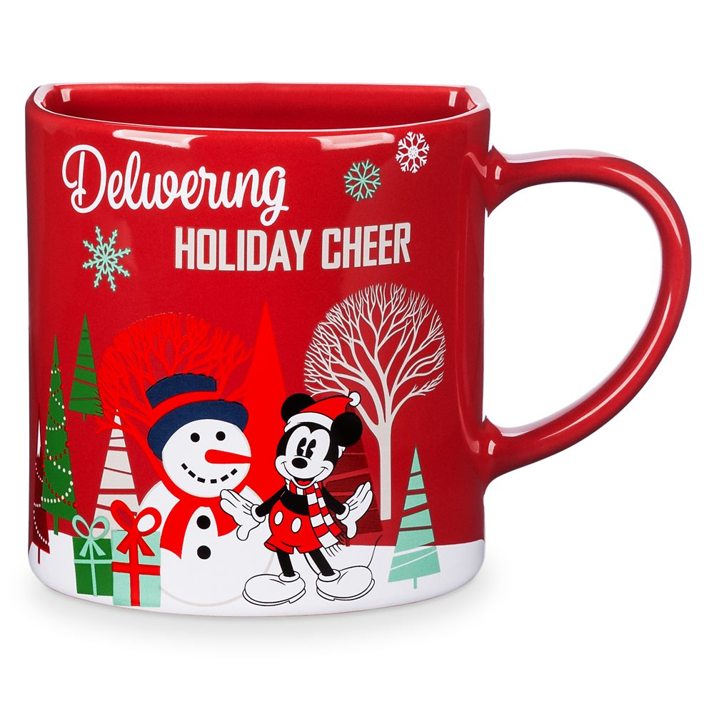 Mickey Mouse Holiday Cookie Holder Mug